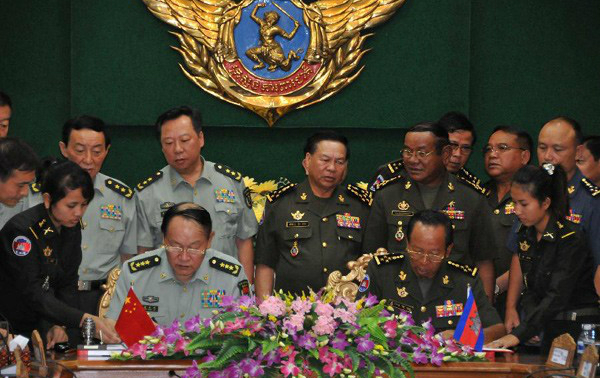 Sino-Cambodian Relations:  Recent Economic and Military Cooperation
