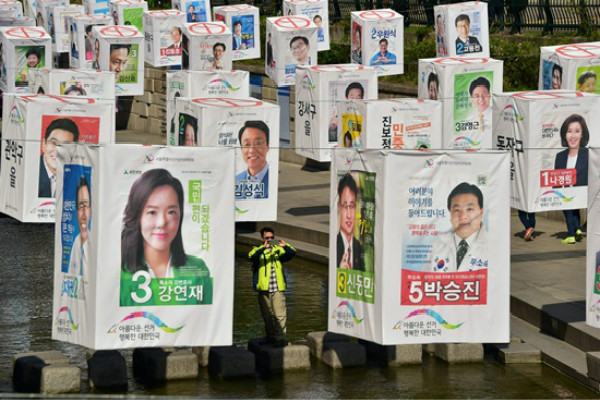 South Korean Legislative Elections: Park's Government in Grave Position