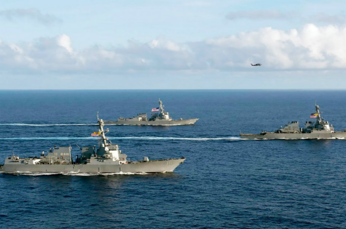 "US Says ""Rules"" Should Be ""Enforced"" in the South China Sea"